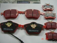 AUDI TT TURBO EBC Rouge stuff avant et arrière plaquettes de frein