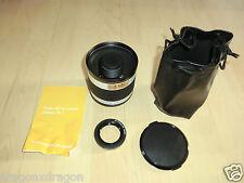 T.K.L 500mm 1:6,3 DX Objektiv mit Adabterriing für Canon, 2J. Garantie