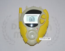 DIGIMON DIGIVICE 02 YELLOW WHITE GROW IN DARK  D-3 US VER 1 ONLY ONE CLEAN BODY