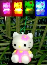 Blinking Hello Kitty light Holiday Tree ornament or rear view mirroe hanger
