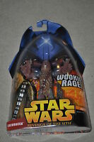STAR WARS REVENGE OF THE SITH CHEWBACCA WOOKIEE RAGE #5 HASBRO VINTAGE MOSC