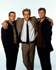 Two Guys and a Girl [Cast] (32710) 8x10 Photo