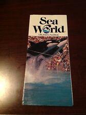 VINTAGE SEA WORLD ORLANDO FLORIDA PHOTO TRAVEL BROCHURE