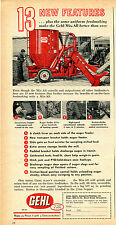 1964 Print Ad of Gehl Mix-All Grinder Mixer 13 New Features