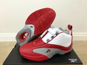 Reebok Answer IV OG 20th Anniversary FY9690 Allen Iverson White/Red Size 10 - 13
