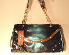 Marc Chantal M.C. purse handbag Midnight Blue NWT FAST FREE SHIPPING