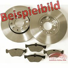 Opel Astra F 1.6 I Set 2 Bremsscheiben Bremsen 4 Beläge vorne**