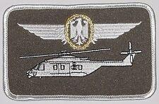 Écusson patch namemsschild nh90 Militaire Aéronef dirigeants Pilote or... a3523