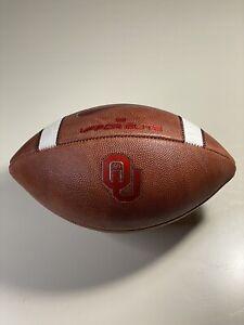 2019 Oklahoma Sooners Game Issued Nike Vapor Elite Football - NCAA - University