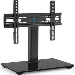 PERLESMITH Universal TV Stand - Table Top TV Stand for 37-55 inch LCD LED TVs -
