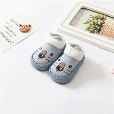 Baby Hausschuhe Jungen Hüttenschuhe Krabbelschuhe Babykleidung blau Größe 18