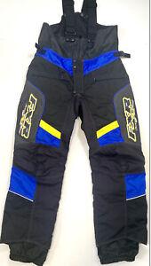 FXR Team Fuchsia Snowmobile Pants Bibs 4 6 8 10 12 14 16 18 20 200301-1090