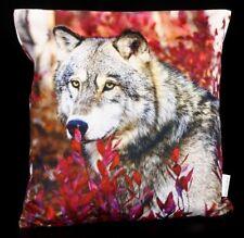 Kissenbezug - Herbst Wolf - Fantasy Dekokissen Zierkissen