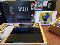 Nintendo Wii + Super Mario Bros Console System CIB Complete in Box With Inserts
