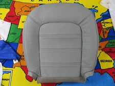 2003-05 FORD Explorer XLT NBX  Driver side Bottom Leather Seat cover (GRAY)