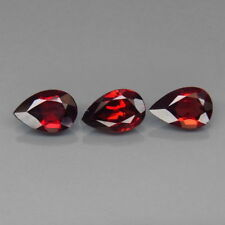 3.76 CTS 3 EXCELENTES GRANATES MOZAMBIQUE. Natural Red Mozambique Garnet Africa