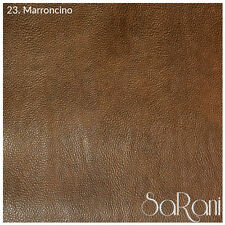 Faux Leather Fabric Synthetic Skin Textured Upholstery Coating Sofa Bed 50CM