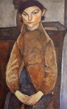 Amedeo Modigliani, Young Gypsy 1909, Lithograph