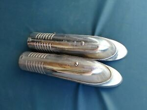 1949 Buick fender parking lights turn signals Pair '49
