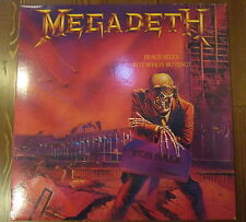 MEGADETH RARE LP PEACE SELLS BUT WHO'S BUYING ROCK HEAVY METAL THRASH