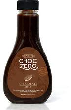 ChocZero Chocolate Syrup 12oz Sugar Free Non GMO Premium Cocoa Beans Liquor NEW