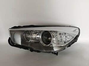 For 10-17 BMW 535i 550i GT F07 HEADLIGHT XENON HID ADAPTIVE AFS LEFT OEM