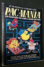 PAC-MANIA TOP STRATEGIES FOR HOME & ARCADE PAC-MAN 1982 LARGE SPIRAL BOOK