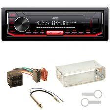 JVC KD-X252 Autoradio MP3 WMA AOA Einbauset für Seat Ibiza 6L Arosa Cordoba