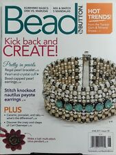 Bead & Button June 2017 Kick Back and Create Pretty in Pearls FREE SHIPPING sb