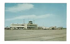 Airport Montreal Canada Vintage Postcard Sep17