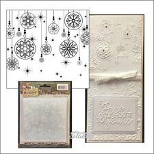 Ornament embossing folders - Celebrating Christmas embossing folder Yvonne