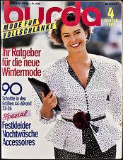 Burda Mode für Vollschlanke W 4/87