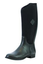 Damen Muck Boots Derby Tall Reitstiefel versch.Größen in Farbe schwarz !NEU!TOP!