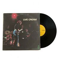 Cream - Live Cream - Vinyl LP - 1970 US 1st Press ATCO SD 33-328
