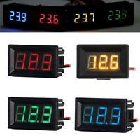 """DC 2.4V-30V 2-Wire 0.36"""" LED Digital Display Panel Voltmeter Voltage Volt Meter"""