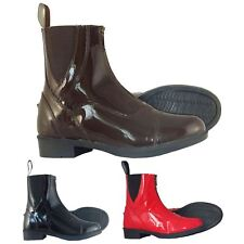 Joy Rider Adi Ladies Mens Quality Patent Leather Equestrian Horse Jodhpur Boot