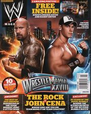 WWE Magazine Special January 2012 CM Punk John Cena Rock w/Poster090318DBE2