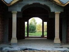 2x 263cm Quadratische Säule Toskana Säulen Steinsäulen Gartensäule BLACKFORM