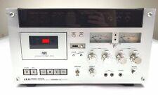 Vintage Akai GXC-570D Stereo Cassette Deck Player * Tested * Rare Vtg Audio
