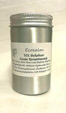Azufre ecocalm/tratamiento de árbol de Té-Crema para Acné, Spot, Zit, 200g. + Gratis Jabón
