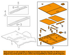 GM OEM Interior-Rear-Storage Box 23366195