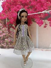 OUTFIT OOAK ELLOWYNE WILDE AND FRIENDS dress, headband, robe, bandeau cheveux