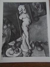 Post Impressionist b/w Print by PAUL CEZANNE Still life with Plaster Cupid 1895