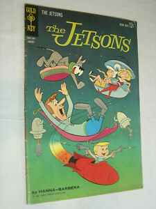 The Jetsons #1 VG Gold Key Classic Hanna Barbara Comic Book