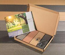 Samples Pack Composite Decking Board Clip Fixing Wood Plastic Deck Sample