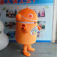 Advertising Promotion Android Robot Mascot Costume Facny Dress Adults Size New