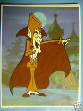 HAND PAINTED HANDPAINTED COUNT CHOCULA DRACULA VAMPIRE ANIMATION CEL CELL ART