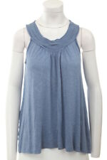 STUDIO M $68 NEW 13146 Solid Rayon Jersey Tank Womens Top S