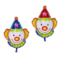 5 CIRCUS WHIRLS HANGING DECORATIONS Clown Circus Party Decoration 57632