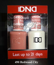 DND Daisy Soak Off Gel Polish Redwood City 490 full size 15ml LED/UV gel duo